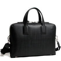 LOEWE Unisex 2WAY Leather Business & Briefcases