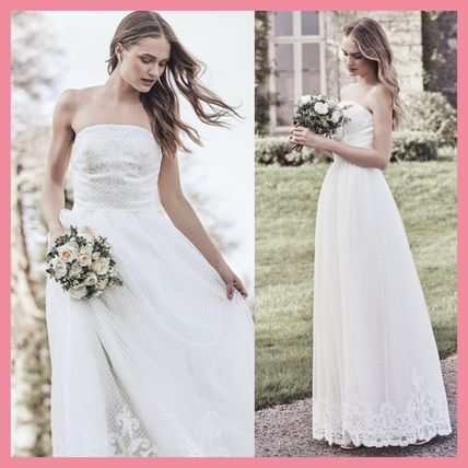 Chi London Wedding Dresses Flower Patterns Maxi Long Lace