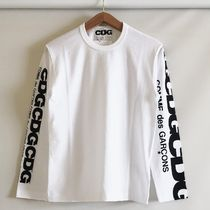 COMME des GARCONS More T-Shirts Crew Neck Unisex Street Style Long Sleeves Cotton 13