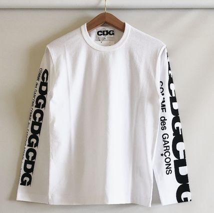 COMME des GARCONS More T-Shirts Unisex Street Style Long Sleeves T-Shirts 6