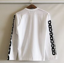 COMME des GARCONS More T-Shirts Crew Neck Unisex Street Style Long Sleeves Cotton 14