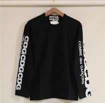 COMME des GARCONS More T-Shirts Crew Neck Unisex Street Style Long Sleeves Cotton 15