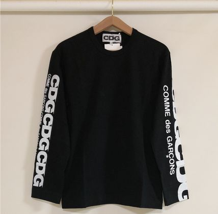 COMME des GARCONS More T-Shirts Unisex Street Style Long Sleeves T-Shirts 13