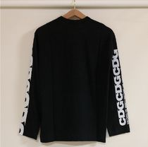 COMME des GARCONS More T-Shirts Crew Neck Unisex Street Style Long Sleeves Cotton 16