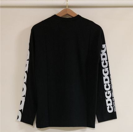 COMME des GARCONS More T-Shirts Unisex Street Style Long Sleeves T-Shirts 10