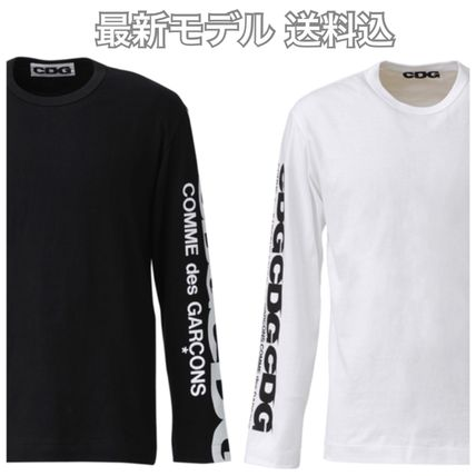 COMME des GARCONS More T-Shirts Long Sleeves T-Shirts