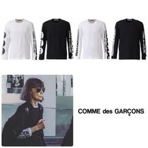 COMME des GARCONS Unisex Street Style Long Sleeves T-Shirts