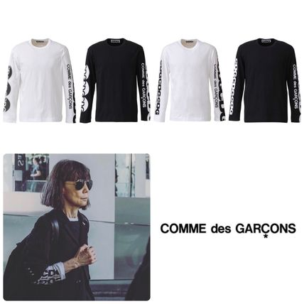 COMME des GARCONS More T-Shirts Unisex Street Style Long Sleeves T-Shirts