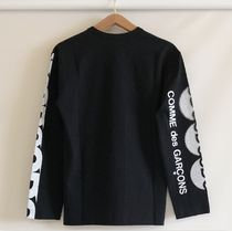 COMME des GARCONS More T-Shirts Crew Neck Unisex Street Style Long Sleeves Cotton 20