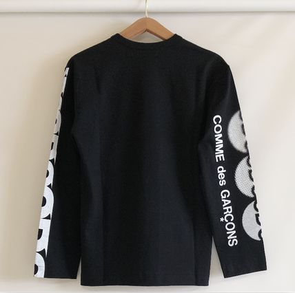 COMME des GARCONS More T-Shirts Unisex Street Style Long Sleeves T-Shirts 20