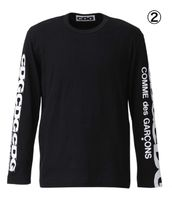 COMME des GARCONS More T-Shirts Crew Neck Unisex Street Style Long Sleeves Cotton 6