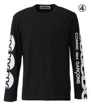 COMME des GARCONS More T-Shirts Crew Neck Unisex Street Style Long Sleeves Cotton 8