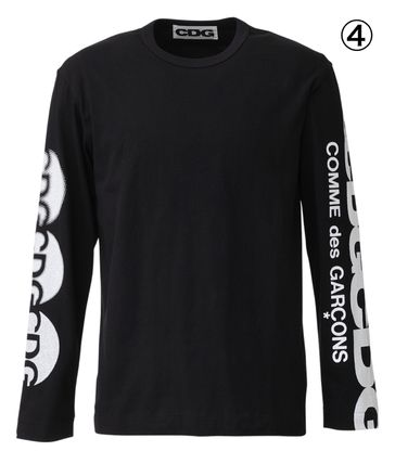 COMME des GARCONS More T-Shirts Unisex Street Style Long Sleeves T-Shirts 5