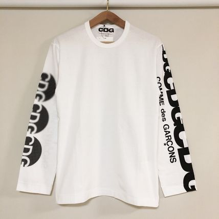 COMME des GARCONS More T-Shirts Unisex Street Style Long Sleeves T-Shirts 16