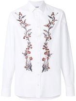 alexander mcqueen Flower Patterns Cotton Shirts