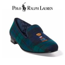POLO RALPH LAUREN Gingham Other Check Patterns Plain Toe Loafers & Slip-ons