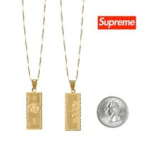 Supreme Street Style Necklaces & Chokers