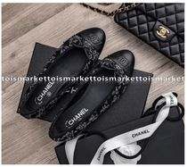 CHANEL Elegant Style Ballet Shoes