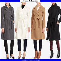 Ralph Lauren Casual Style Cashmere Plain Long Wrap Coats