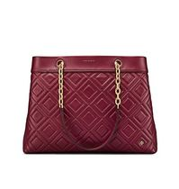 Tory Burch A4 Leather Elegant Style Totes
