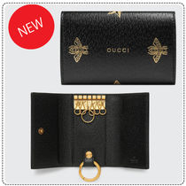 GUCCI Leather Keychains & Holders
