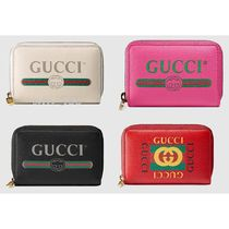 GUCCI Unisex Leather Card Holders