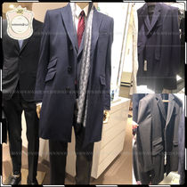 GUCCI Wool Plain Chester Coats