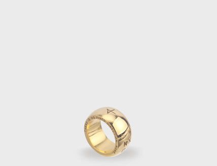 Rings Unisex Street Style Plain Metal Rings 9