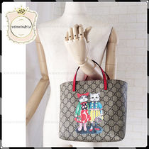 GUCCI Casual Style Cambus Collaboration Other Animal Patterns