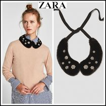 ZARA With Jewels Elegant Style Detachable Collars