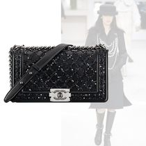 CHANEL Casual Style Lambskin 2WAY Chain Handbags