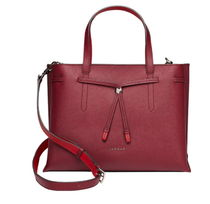 LOVCAT Street Style A4 2WAY Plain Leather Office Style Totes
