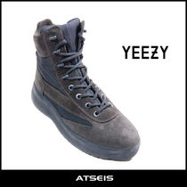 Yeezy Plain Toe Suede Street Style Boots