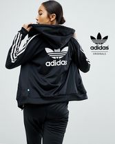 adidas Casual Style Street Style Long Sleeves Hoodies & Sweatshirts