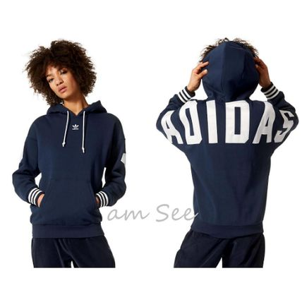 adidas Casual Style Street Style Long Sleeves Cotton