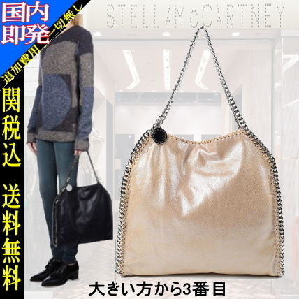Casual Style Faux Fur 3WAY Plain Totes