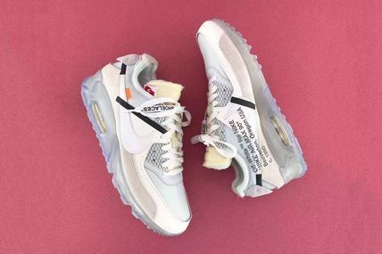 Nike AIR MAX 90 2017 18AW Street Style Collaboration Plain Sneakers