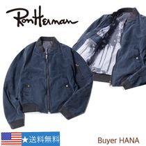 Ron Herman Street Style Collaboration Plain MA-1 Bomber Jackets