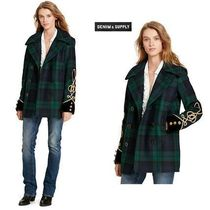 Ralph Lauren Tartan Wool Medium Peacoats
