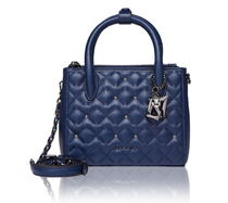 LOVCAT Studded 2WAY Leather Party Style Totes