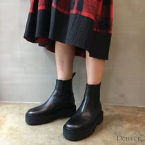 Isabel Marant Plain Leather Chelsea Boots Ankle & Booties Boots