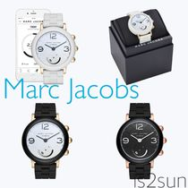 MARC JACOBS Casual Style Blended Fabrics Round Digital Watches