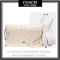 Coach Studded Leather Shoulder Bags