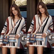 Tory Burch Long Sleeves Cotton Oversized Sweaters