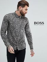 Hugo Boss Camouflage Long Sleeves Shirts
