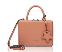 LOVCAT Studded Street Style 2WAY Plain Leather Shoulder Bags