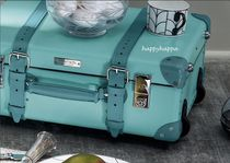Tiffany & Co Handmade 1-3 Days Hard Type Carry-on Luggage & Travel Bags