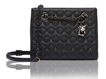 LOVCAT Studded Street Style Chain Leather Shoulder Bags