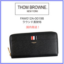 THOM BROWNE Leather Coin Cases