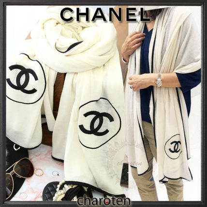 CHANEL 2018 SS Women s Scarves   Shawls  Shop Online in US  a0a6439e8